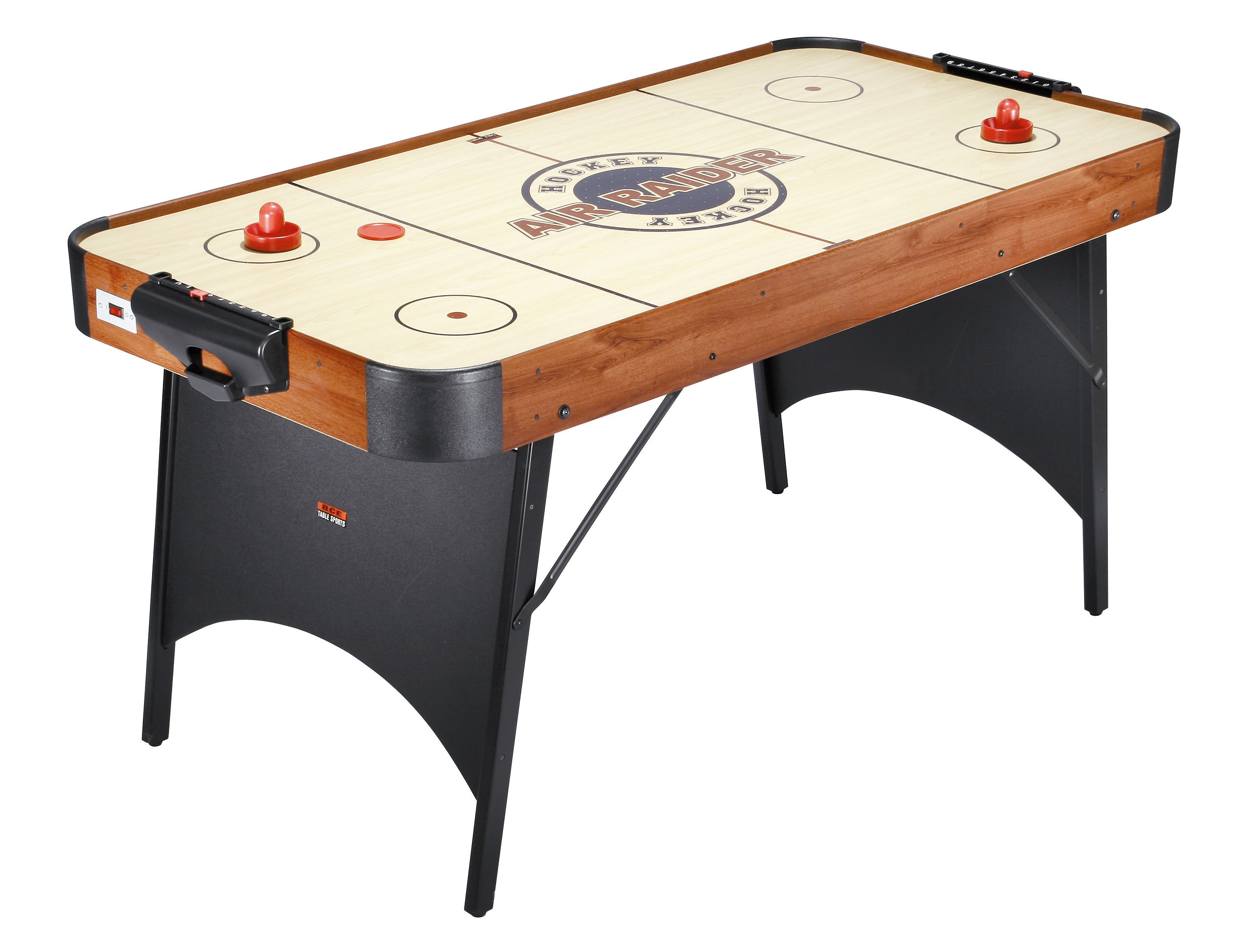 Air raider air hockey table 5ft ah10 4 liberty games for 10 in 1 table