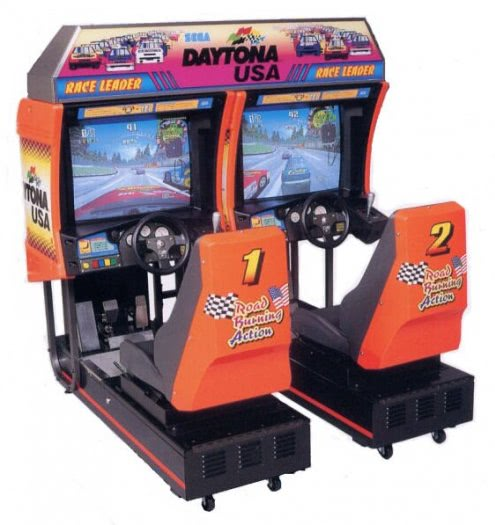 Sega Daytona USA Twin Arcade Machine