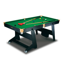BCE 6 foot Folding Home Snooker Table (FS-6)