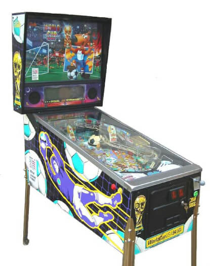 World Cup Soccer Pinball Machine