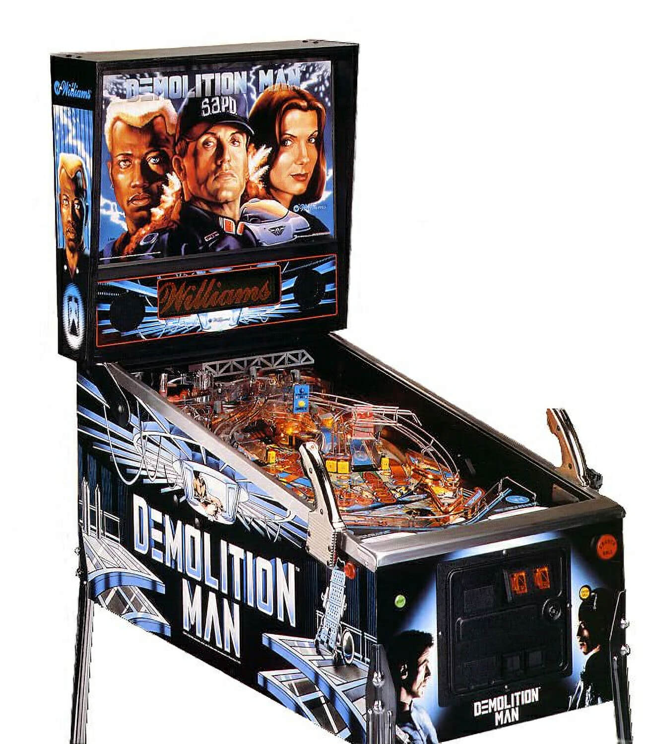 Demolition Man Pinball Machine Liberty Games : 1286demolition man pinball from libertygames.co.uk size 662 x 758 jpeg 111kB