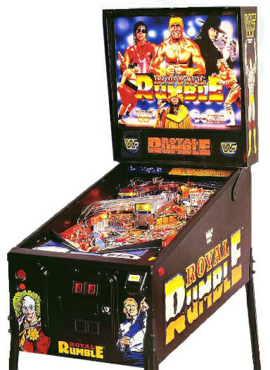 WWF Royal Rumble Pinball Machine