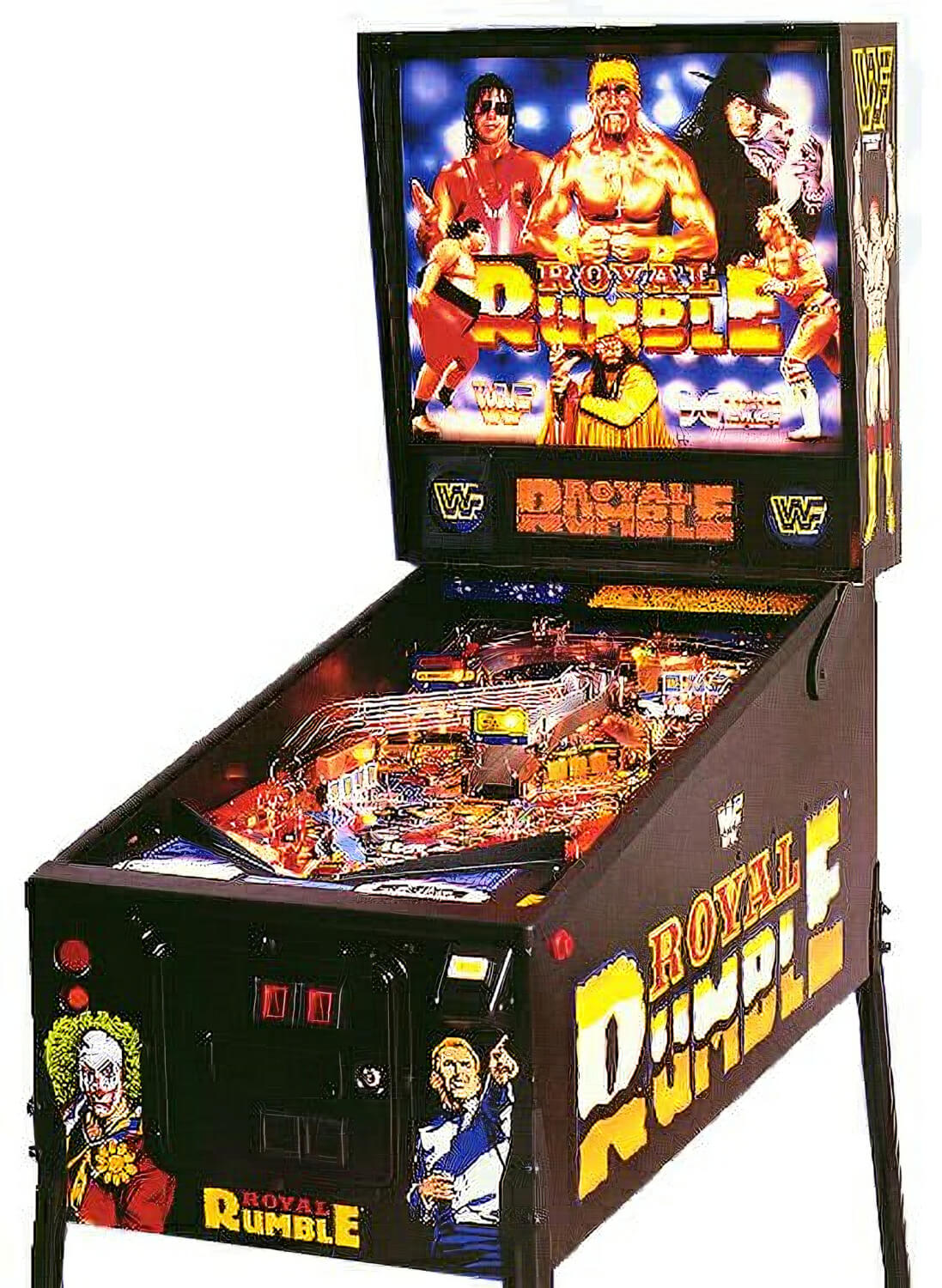 Wwf Royal Rumble Pinball Machine Liberty Games