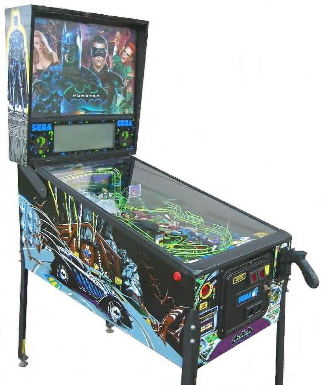 Batman Forever Pinball Machine Liberty Games