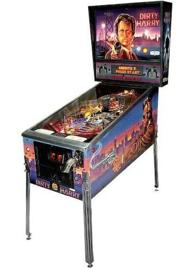 Dirty Harry Pinball Machine