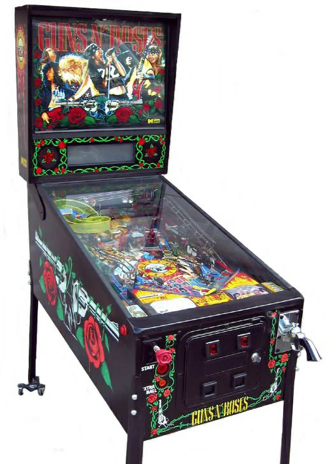 Guns N Roses Pinball Machine Liberty Games