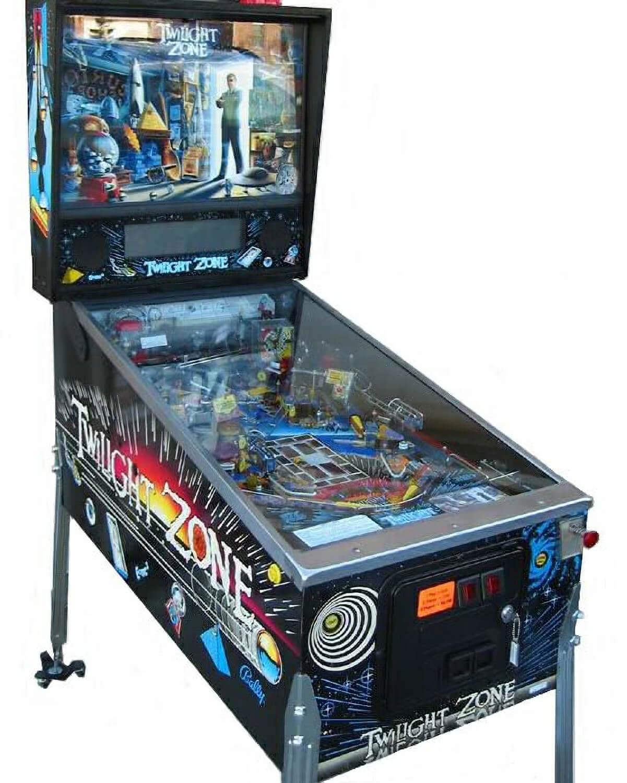 Twilight Zone Pinball Machine Liberty Games