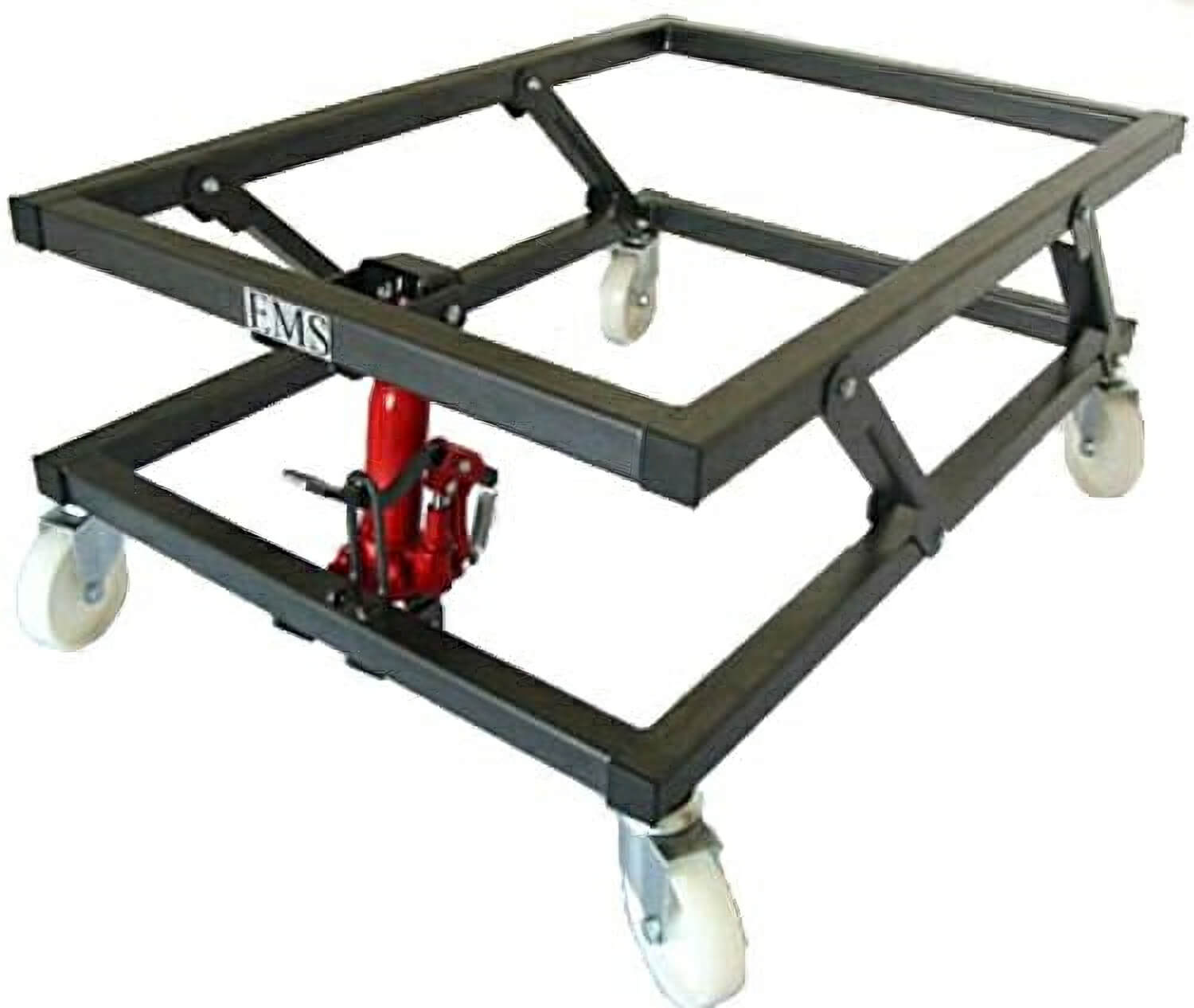 Hydraulic Pedal Lift Pool Trolley (P7501) | Liberty Games