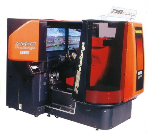 F355 Challenge Deluxe Arcade Machine Liberty Games