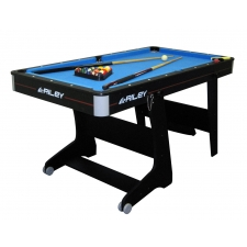 Riley 5 foot Folding Pool Table & Table Tennis Top (FP-5B)
