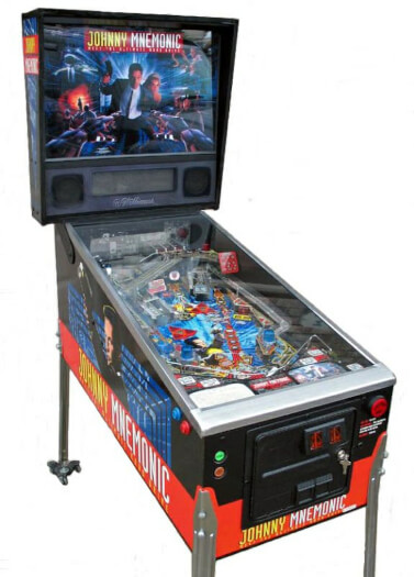 Johnny Mnemonic Pinball Machine