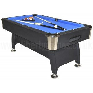 Pro American Deluxe 6 foot Pool Table with Blue Cloth