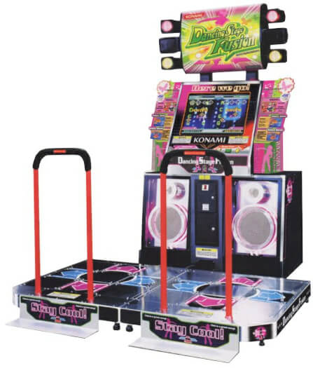 Dance Stage Fusion Arcade Machine