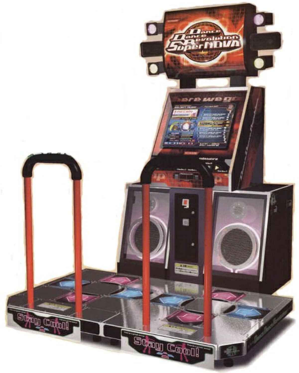 dance arcade machine