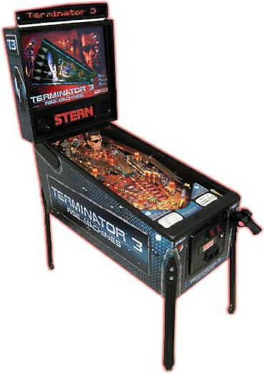Terminator 3: Rise of the Machines Pinball Machine