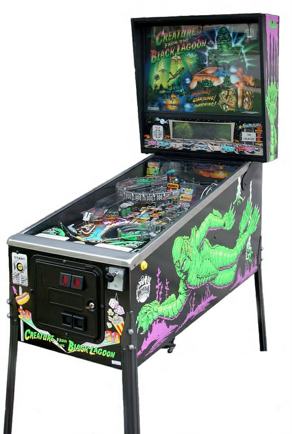 Hockey Tables For Sale Creature From The Black Lagoon Pinball Machine | Liberty Games