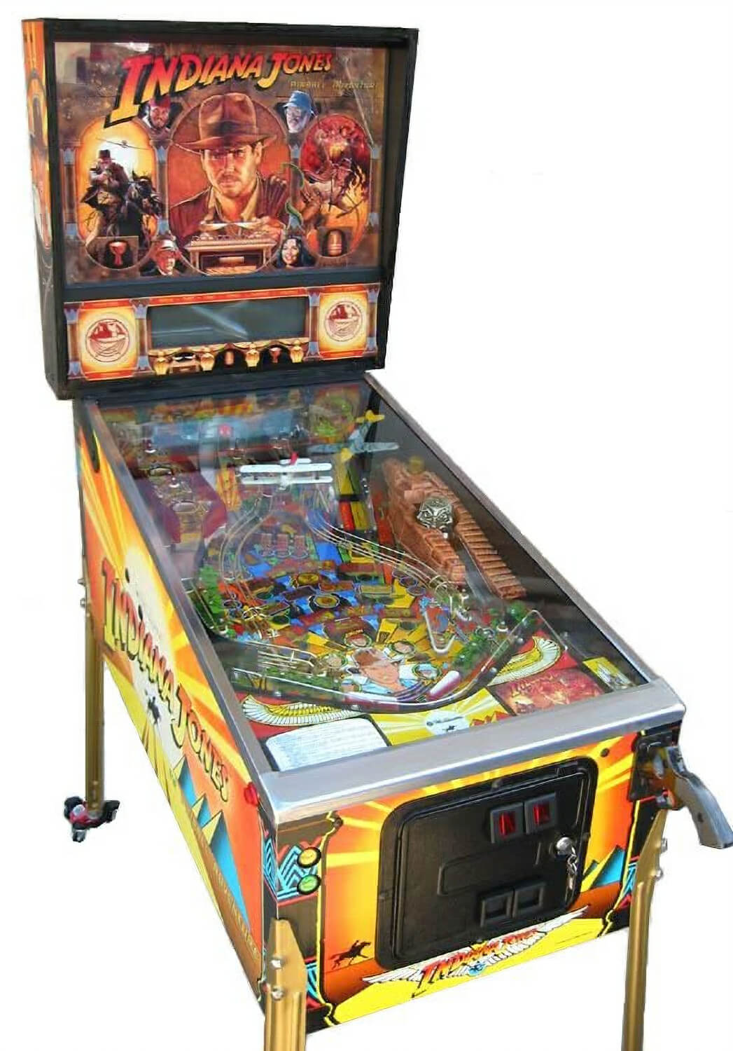 Indiana Jones The Pinball Adventure Pinball Machine
