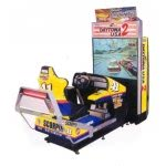 Daytona USA 2 - Battle on the Edge Deluxe Arcade Machine