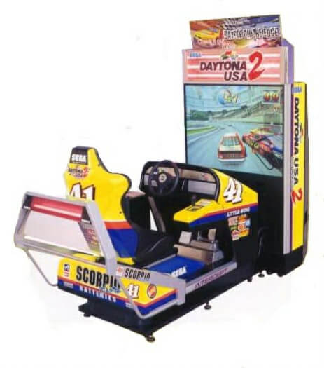 Sega Daytona USA Deluxe Arcade Machine