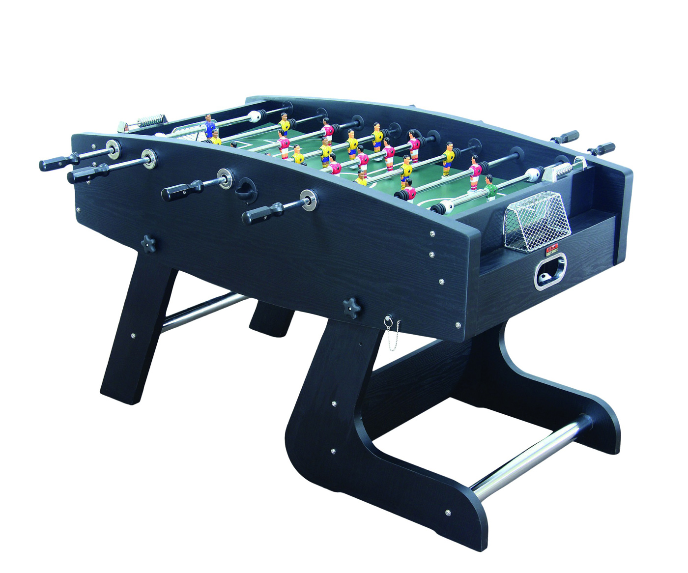 Wembley deluxe folding football table hft 5jlb liberty for Table 6 games