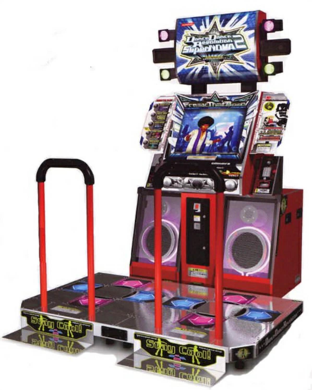 Dance Dance Revolution SuperNova 2 Arcade Machine  : 1719d d r supernova 2 dance arcade from libertygames.co.uk size 527 x 661 jpeg 55kB