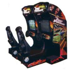Raw Thrills Fast And The Furious Twin Arcade Machine