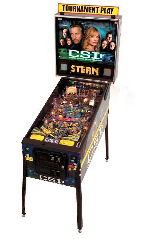 Stern CSI: Crime Scene Investigation Pinball Machine