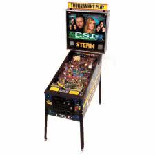 Stern CSI: Crime Scene Investigation Pinball Machine