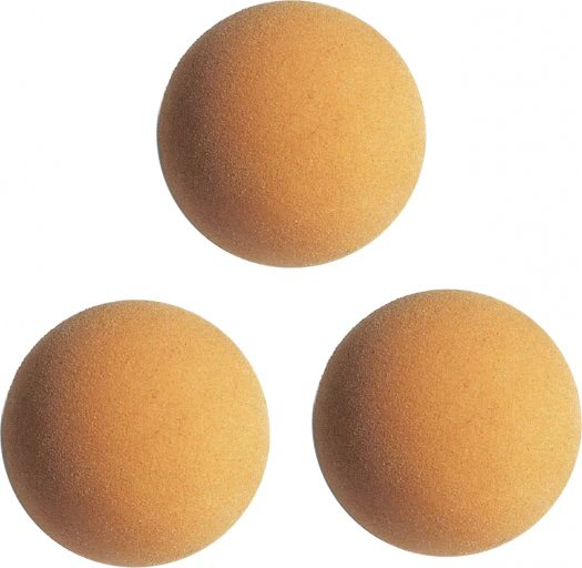 Garlando Set of 3 High Control Competition Football Table Balls
