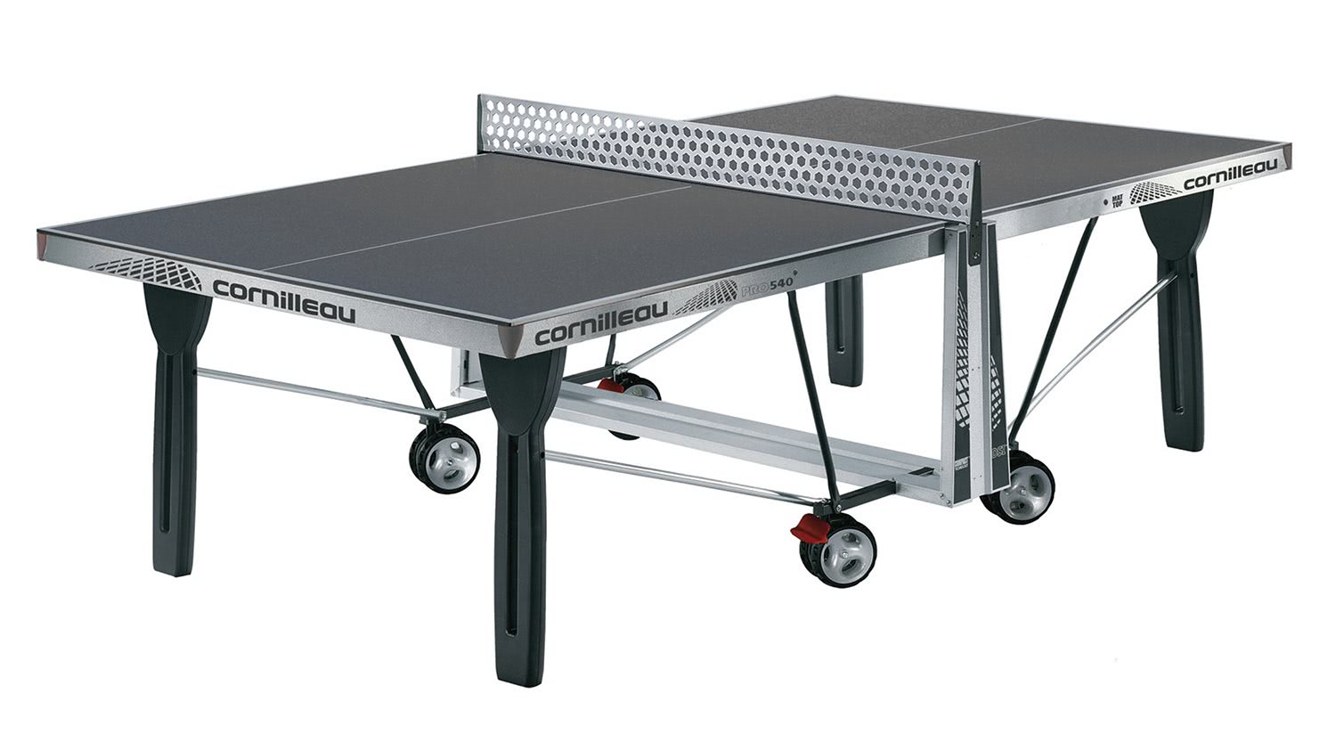 Cornilleau proline 540 rollaway outdoor table tennis 125417 - Table ping pong cornilleau outdoor ...
