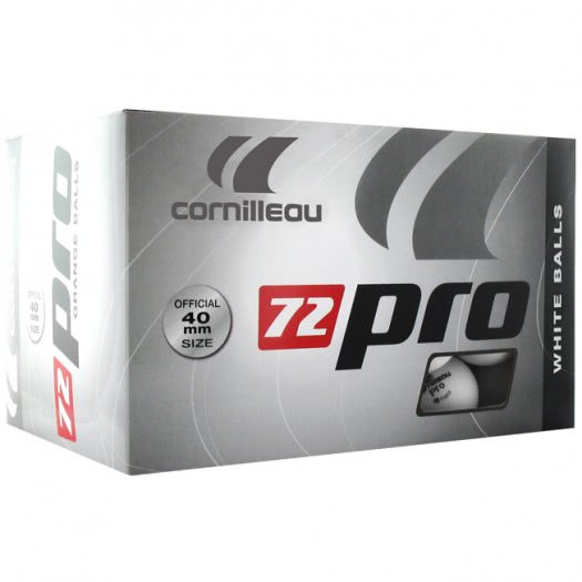 Cornilleau Box of 72 Pro Table Tennis Balls
