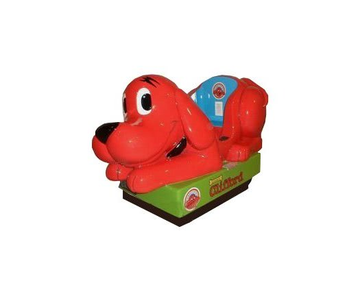 Clifford The Dog Kiddy Ride