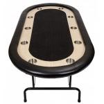 Premium Tournament Poker Table - Black (FLTABLE-B/W)