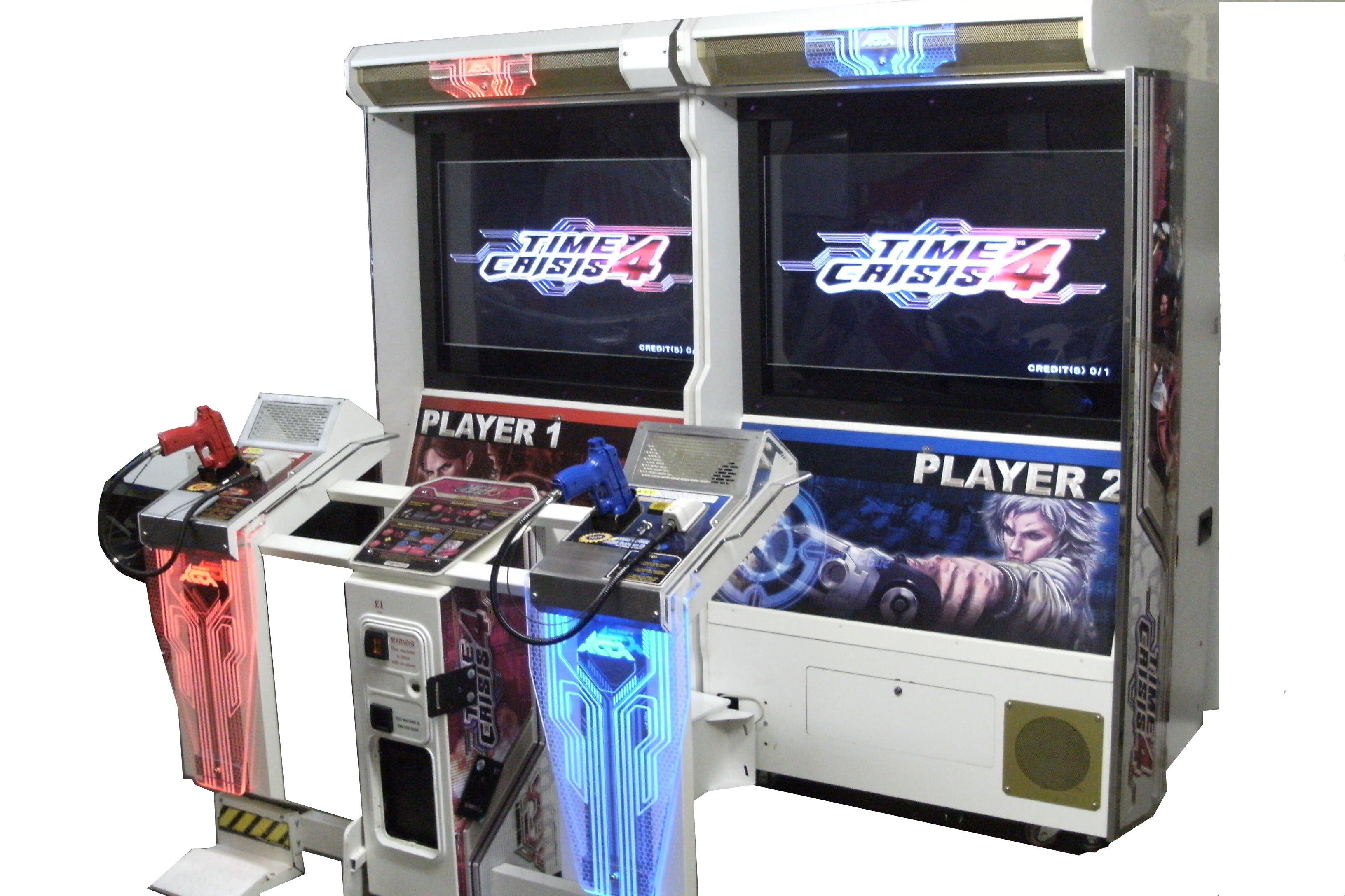 Namco Time Crisis 4 Deluxe Arcade Machine Liberty Games