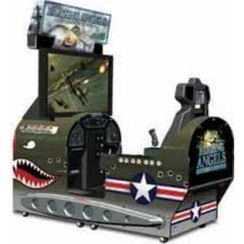 Blazing Angels: Squadrons of WW2 Deluxe Arcade Machine