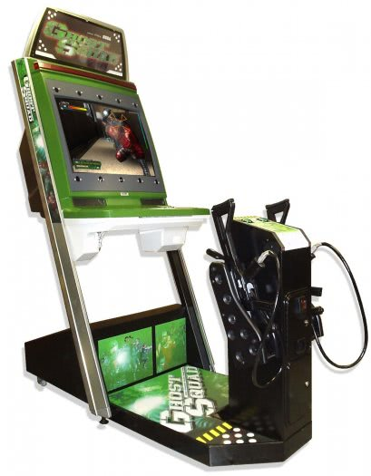 Sega Ghost Squad Evolution Arcade Machine