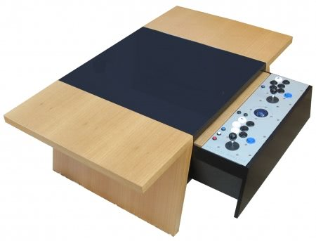 Double 7 Contemporary Arcade Coffee Table