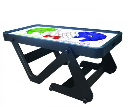 BCE Typhoon 6 foot Folding Air Hockey Table (H6D-222)