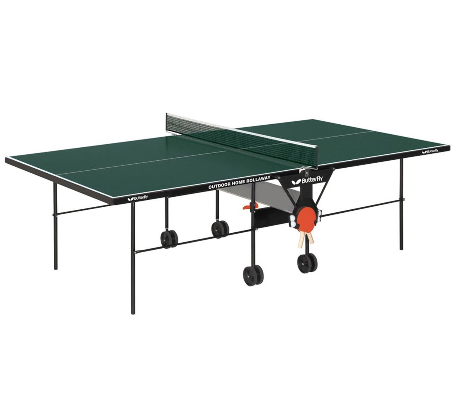 Butterfly Outdoor Home Rollaway Table Tennis Liberty Games