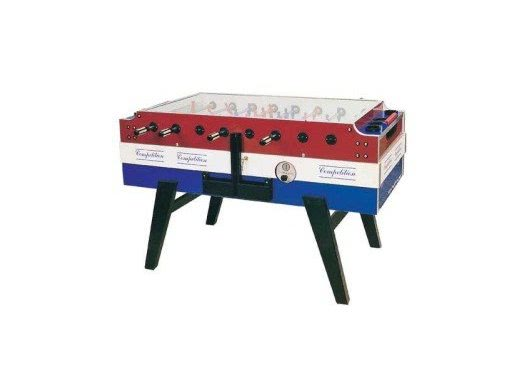 Garlando Red, White & Blue Coin Operated Football Table