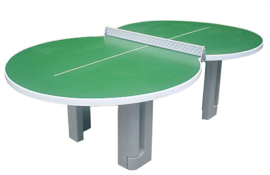 Butterfly Figure 8 Polymer Concrete Table Tennis