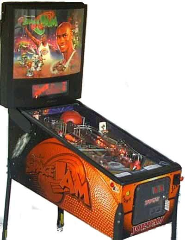 Space Jam Pinball Machine Liberty Games