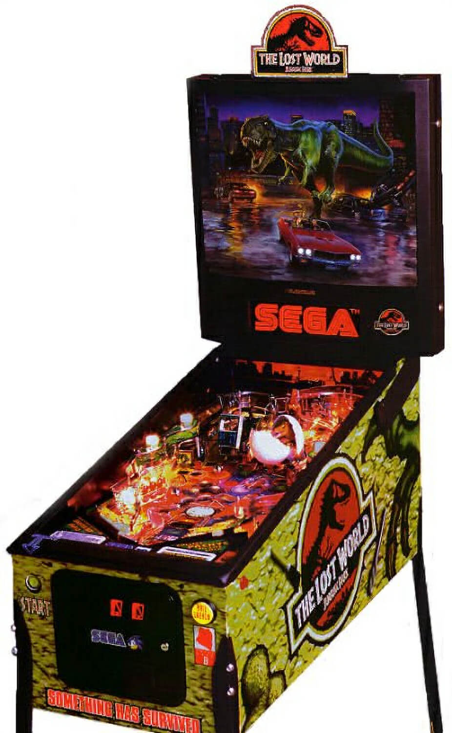 Jurassic Park The Lost World Pinball Machine Liberty Games