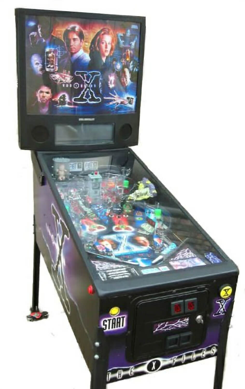 x files pinball machine