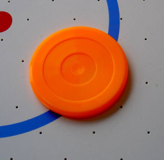 Twister Orange Air Hockey Puck (30-0070)