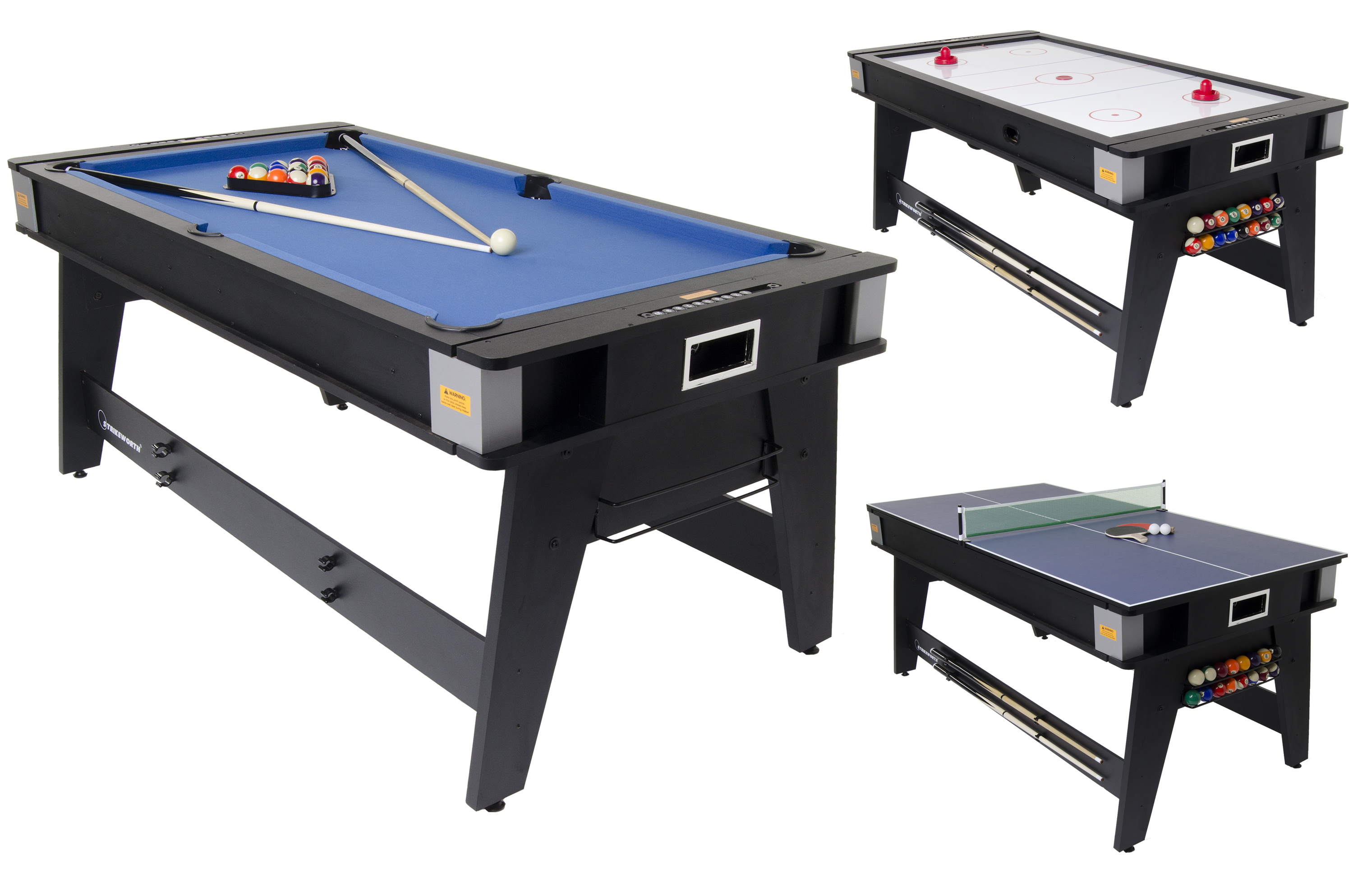 Strikeworth Foot Multi Games Table Liberty Games - Six foot pool table