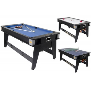 The Strikeworth 6ft Pool & Multigame table