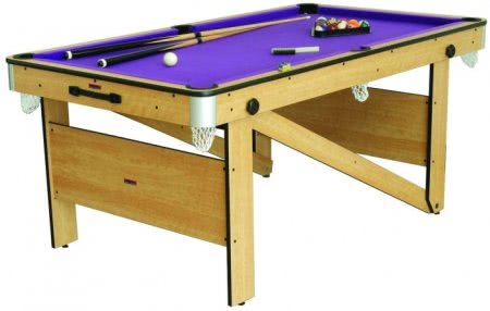 5 foot Folding Lay Flat Pool Table (CP-5AG)