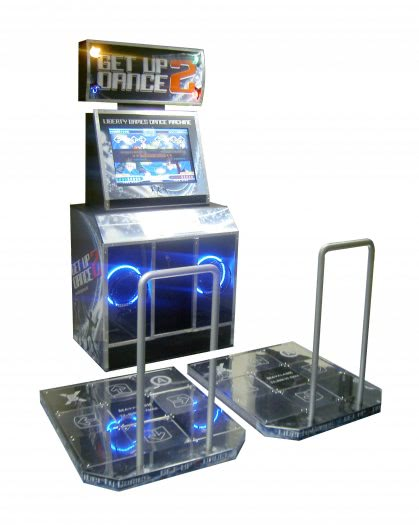 Get Up 2 Dance - Dance Arcade Machine
