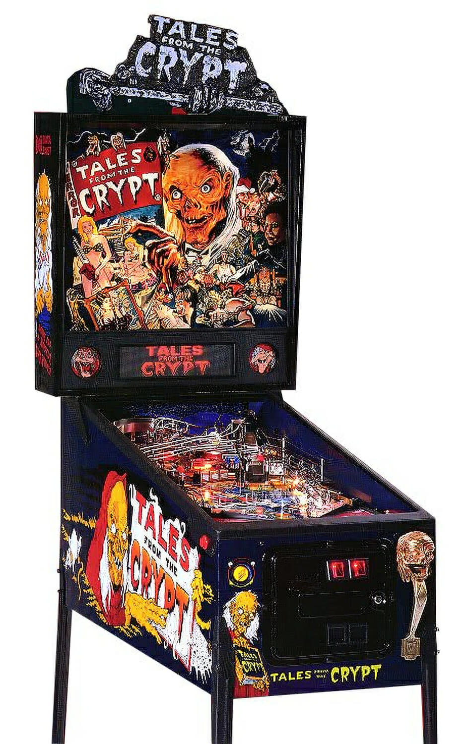 Tales From The Crypt Pinball Machine Liberty Games
